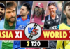 asia eleven vs World Xi