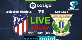 Atletico Madrid vs Leganes