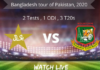 Pakistan vs Bangladesh 2020