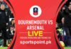 arsenal vs bourmouth fa cup 2020
