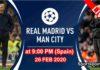 Real madrid vs man city 26 feb 2020