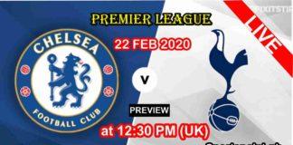 Chelsea vs tottenham 2020 live streaming
