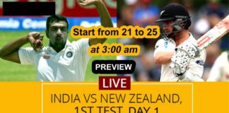 ind vs nz live streaming 21 feb 2020