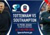 tottenham vs southampton fa cup live 2020