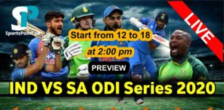 india vs south africa 2020 live