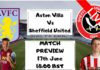 Aston villa vs Sheffield united