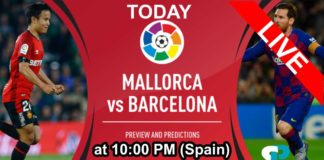 Barcelona live streaming
