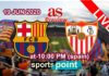barcelona vs Sevila live streaming