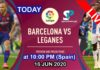 barcelona vs leganes 16 jun liv