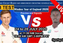 england vs west indies live streaming 3rd test