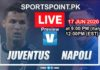 juvantus vs Napoli Live streaming 2020