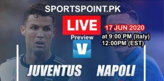 juvantus vs Napoli Live streaming 2020