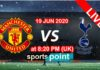 man united vs tottenhum live streaming