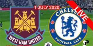 wes ham vs chelsea live streaming 2020
