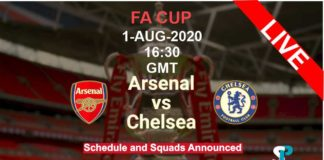 Arsenal vs Chelsea live streaming