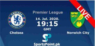 Chelsea vs Norwich live stream