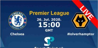 Chelsea vs Wolves live streaming 26-7-20