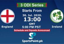 England vs Ireland Live streaming 30-20