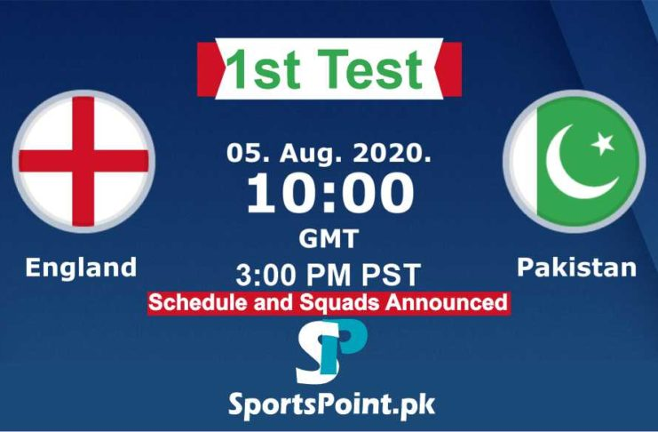 England vs Pakistan liive streaming 2020