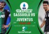 Juventus vs Sassuolo Serie A live