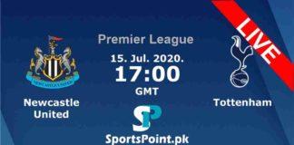 Newcastle vs Tottenham live streaming