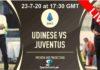 Udinese vs Juventus Live streaming 23-7-20
