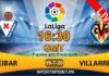 Villarreal vs Eibar laliga live streaming 19-7-20