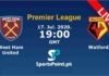 West Ham vs Watford live streaming 17-7-20