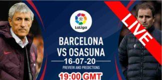 barcelona vs osasuna live streaming