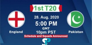pakistan vs eng 1st t20 live