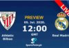 real madrid vs athlectic club live streaming