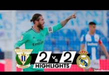 Leganes Vs Real Madrid highlights
