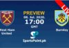 west ham vs burnlay live streaming
