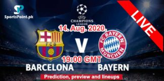 Barcelona vs Bayern Live streaming champions league
