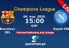 Barcelona vs Napoli live streaming champions league