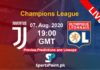 Juventus vs Lyon live streaming champions league