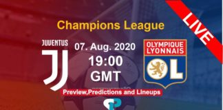Juventus vs Lyon live streaming champions league