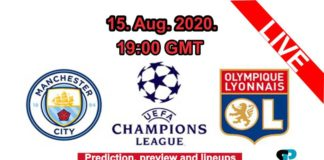 Manchester city vs Lyon live streaming