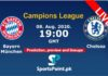 bayern vs chelsea live straeming champions league
