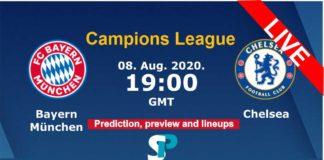 bayern vs chelsea live straeming champions league