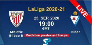 Eibar vs Athletic Club live streaming 25-9-20