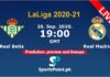 Real Betis vs Real Madrid live 26-9-20