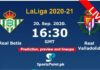 Real Betis vs Valladolid live streaming 20-9-20