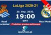 Real Sociedad vs Real Madrid live streaming 20-9-20