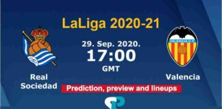 Real Sociedad vs Valencia live streaming 29-9