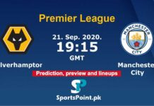 Wolves vs Man City live streaming 21-9-20
