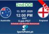 australia vs England 2nd odi 13-9-20