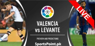 valancia vs levante live streaming 13-9-20