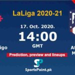 Celta Vigo vs Atlético Madrid live streaming 17-10-20