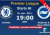 Chelsea vs Brighton live streaming 2021